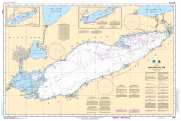 LAKE ERIE / LAC ERIE (2100) by Canadian Hydrographic Service