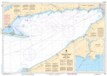 NIAGARA RIVER TO/A LONG POINT (2120) by Canadian Hydrographic Service