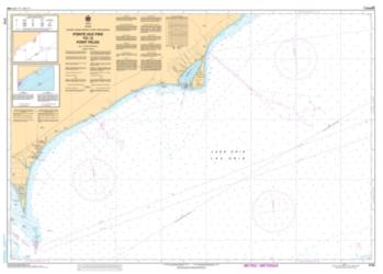 POINTE AUX PINS TO/A POINT PELEE (2122) by Canadian Hydrographic Service