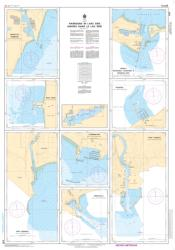 HARBOURS IN LAKE ERIE (2181) by Canadian Hydrographic Service