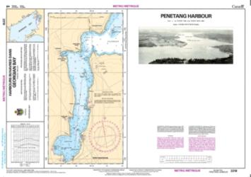 PENETANG HARBOUR (2218) by Canadian Hydrographic Service