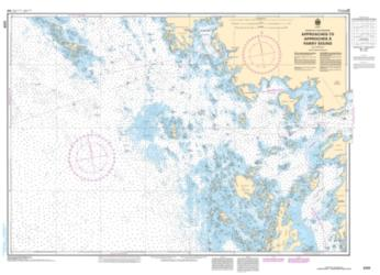 APPROACHES TO/APPROCHES A PARRY SOUND (2225) by Canadian Hydrographic Service