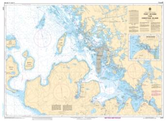 PORT SEVERN TO/A CHRISTIAN ISLAND (2241) by Canadian Hydrographic Service