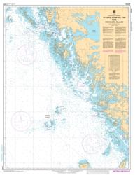 GIANTS TOMB ISLAND TO/A FRANKLIN ISLAND (2242) by Canadian Hydrographic Service