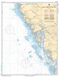 BATEAU ISLAND TO/A BYNG INLET (2243) by Canadian Hydrographic Service