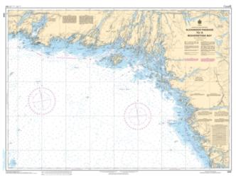 Alexander Passage to/a Beaverstone Bay by Canadian Hydrographic Service