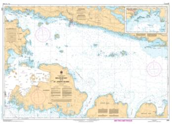 MELDRUM BAY TO/A ST. JOSEPH ISLAND (2251) by Canadian Hydrographic Service