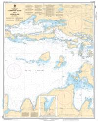 CLAPPERTON ISLAND TO/A JOHN ISLAND (2257) by Canadian Hydrographic Service