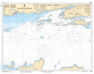 JOHN ISLAND TO/A BLIND RIVER (2259) by Canadian Hydrographic Service