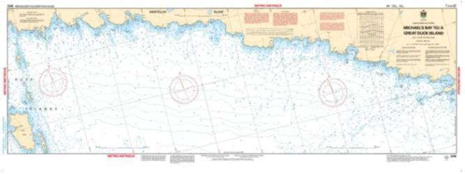 MICHAEL'S BAY TO/A GREAT DUCK ISLAND (2266) by Canadian Hydrographic Service