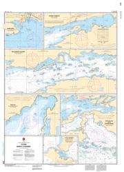 PLANS NORTH CHANNEL (2268) by Canadian Hydrographic Service