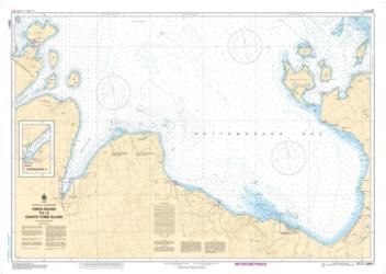 OWEN SOUND TO/A GIANT'S TOMB ISLAND (2283) by Canadian Hydrographic Service