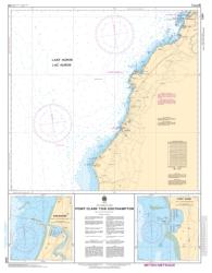POINT CLARK TO/A SOUTHAMPTON (2291) by Canadian Hydrographic Service