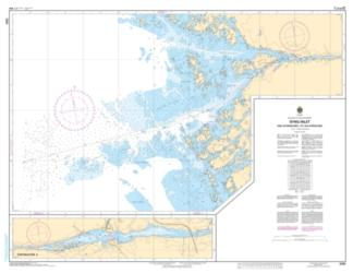 BYNG INLET AND APPROACHES / ET LES APPROCHES (2293) by Canadian Hydrographic Service
