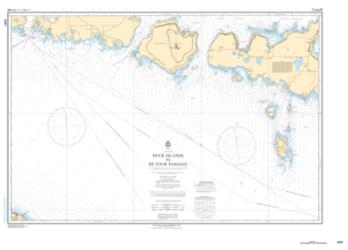 DUCK ISLANDS TO DETOUR PASSAGE (2297) by Canadian Hydrographic Service