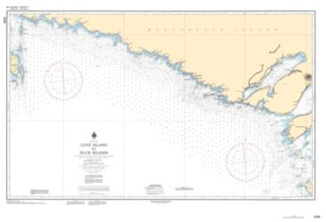 COVE ISLAND TO DUCK ISLANDS (2298) by Canadian Hydrographic Service