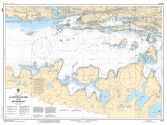 CLAPPERTON ISLAND TO/A MELDRUM BAY (2299) by Canadian Hydrographic Service