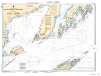 PASSAGE ISLAND TO/A THUNDER BAY (2301) by Canadian Hydrographic Service