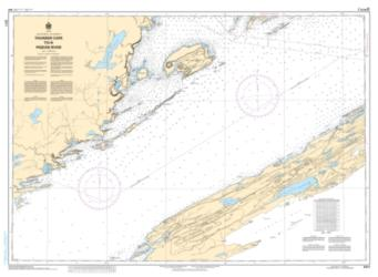 THUNDER CAPE TO/A PIGEON RIVER (2311) by Canadian Hydrographic Service