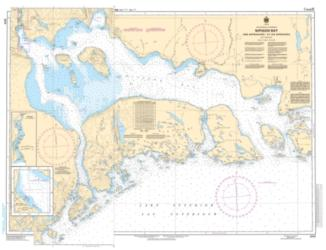 NIPIGON BAY AND APPROACHES/ET LES APPROCHES (2312) by Canadian Hydrographic Service