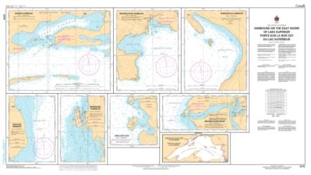 HARBOURS ON THE EAST SHORE OF LAKE SUPERIOR (2315) by Canadian Hydrographic Service