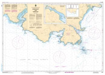 SOOKE INLET TO/A PARRY BAY (3410) by Canadian Hydrographic Service