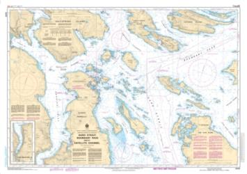 HARO STRAIT, BOUNDARY PASS AND/ET SATELLITE CHANNEL (3441) by Canadian Hydrographic Service