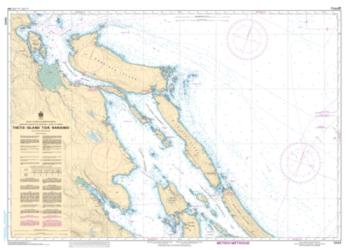THETIS ISLAND TO/A NANAIMO (3443) by Canadian Hydrographic Service