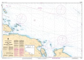 HALIBUT BANK TO/A BALLENAS CHANNEL (3456) by Canadian Hydrographic Service