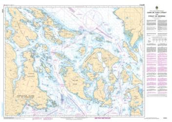 JUAN DE FUCA STRAIT TO/A STRAIT OF GEORGIA (3462) by Canadian Hydrographic Service