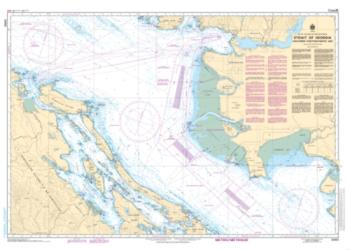 STRAIT OF GEORGIA, SOUTHERN PORTION/PARTIE SUD (3463) by Canadian Hydrographic Service