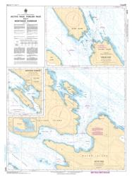 ACTIVE PASS, PORLIER PASS AND/ET MONTAGUE HARBOUR (3473) by Canadian Hydrographic Service