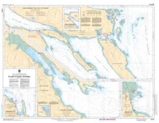 PLANS - STUART CHANNEL (3475) by Canadian Hydrographic Service