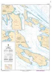 PLANS - GULF ISLANDS (3477) by Canadian Hydrographic Service