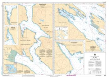 PLANS - SALTSPRING ISLAND (3478) by Canadian Hydrographic Service