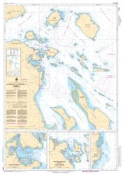 APPROACHES TO/APPROCHES A SIDNEY (3479) by Canadian Hydrographic Service