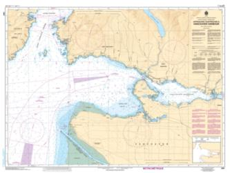 APPROACHES TO/APPROCHES A VANCOUVER HARBOUR (3481) by Canadian Hydrographic Service