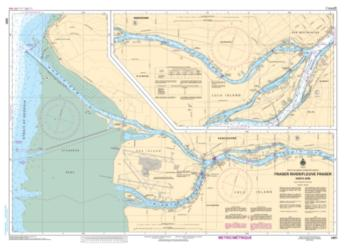 FRASER RIVER/FLEUVE FRASER, NORTH ARM (3491) by Canadian Hydrographic Service