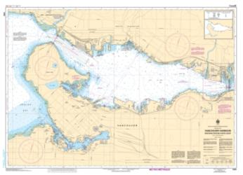 VANCOUVER HARBOUR WESTERN PORTION/PARTIE OUEST (3493) by Canadian Hydrographic Service