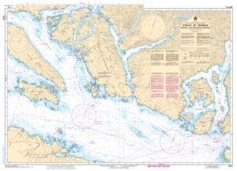 STRAIT OF GEORGIA, CENTRAL PORTION/PARTIE CENTRALE (3512) by Canadian Hydrographic Service