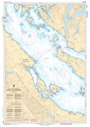 STRAIT OF GEORGIA, NORTHERN PORTION/PARTIE NORD (3513) by Canadian Hydrographic Service