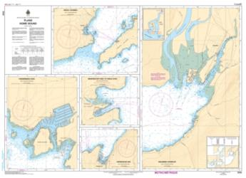 PLANS - HOWE SOUND (3534) by Canadian Hydrographic Service