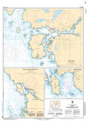 PLANS - MALASPINA STRAIT (3535) by Canadian Hydrographic Service