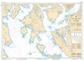 DESOLATION SOUND AND/ET SUTIL CHANNEL (3538) by Canadian Hydrographic Service