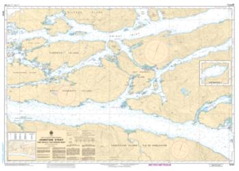 JOHNSTONE STRAIT, PORT NEVILLE TO/A ROBSON BIGHT (3545) by Canadian Hydrographic Service