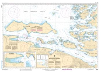BROUGHTON STRAIT (3546) by Canadian Hydrographic Service