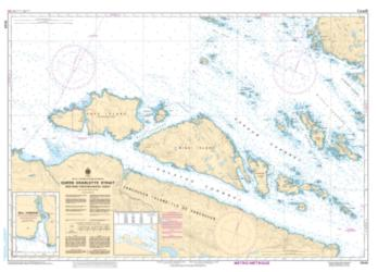 QUEEN CHARLOTTE STRAIT WESTERN PORTION/PARTIE OUEST (3549) by Canadian Hydrographic Service