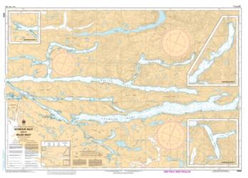 SEYMOUR INLET AND/ET BELIZE INLET (3552) by Canadian Hydrographic Service