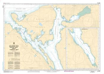 MALASPINA INLET, OKEOVER INLET AND/ET LANCELOT INLET (3559) by Canadian Hydrographic Service