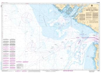 APPROACHES TO/APPROCHES A JUAN DE FUCA STRAIT (3602) by Canadian Hydrographic Service